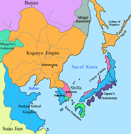 a history of korea the country of three kingdoms