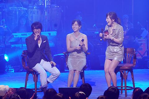 Song Yun Ah and Park Yong Ha on Kim Jung Eun Chocolate