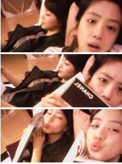 Han Ye Seul and Ryeo Won
