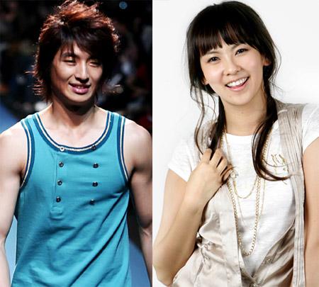 Son Ho Young and Kim Ji Woo