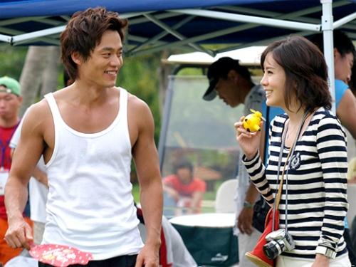 Lee Seo Jin and Kim Jung Eun in Lovers