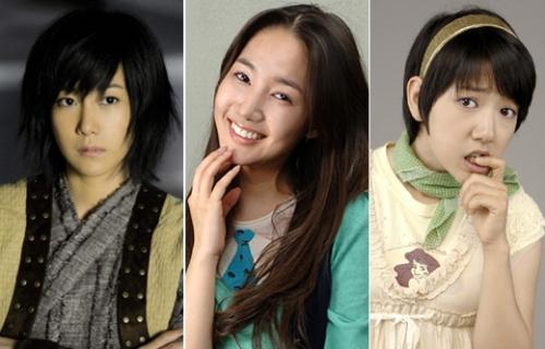 Lee Ji Ah, Park Min Young, Park Shin Hye