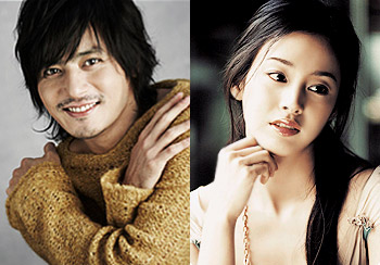 Jang Dong Gun and Kim Tae Hee
