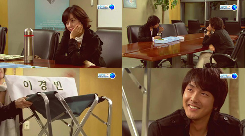 Scene that solidifies Kyung Min-Young Eun relationship