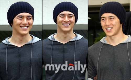 Go Soo returns from military service