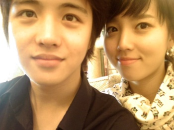 Kim Hye Sung and his pretty ex-gf