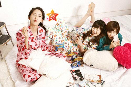YoonA, Sunny, Tiffany