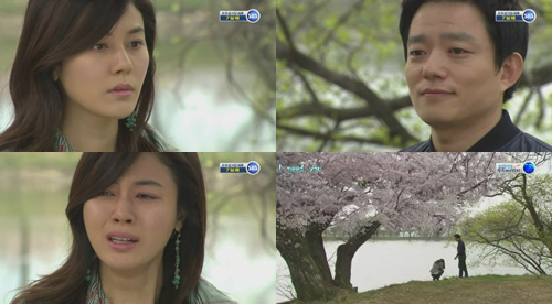 Seung Ah bought to tears by Ki Joon