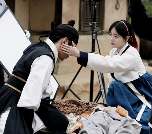 Eric and Goo Hye Sun