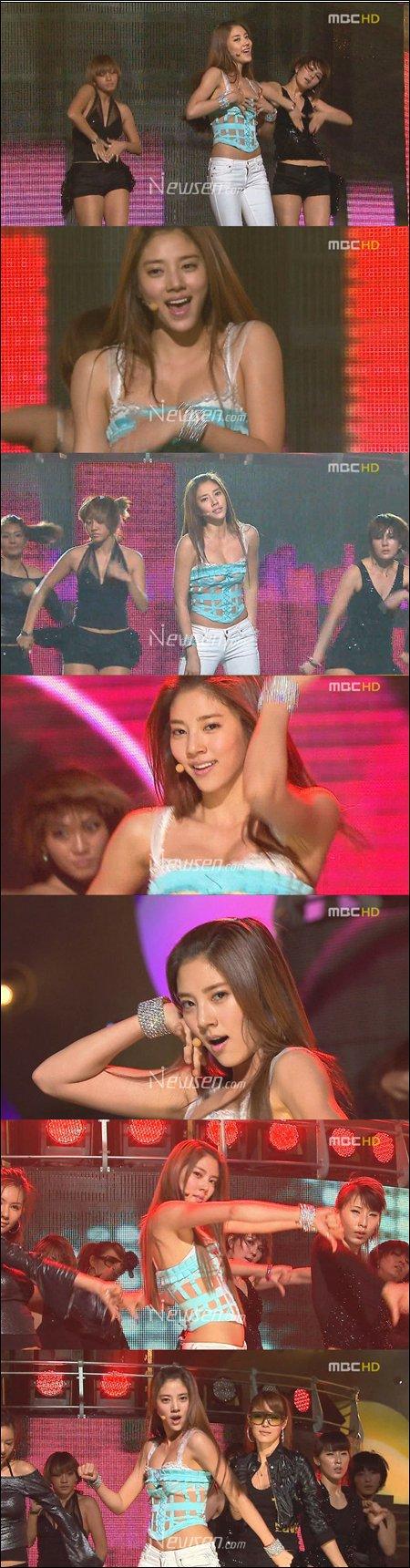 Son Dam Bi Lingerie-clad performance