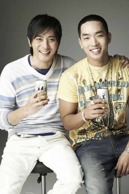 Jang Dong Gun and Crown J