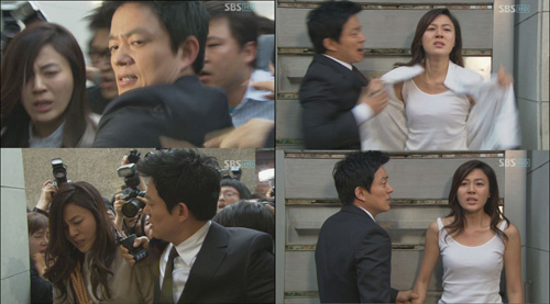 Oh Seung Ah strips to plead her innocence