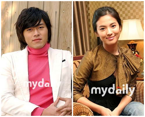 Hyun Bin and Song Hae Gyo