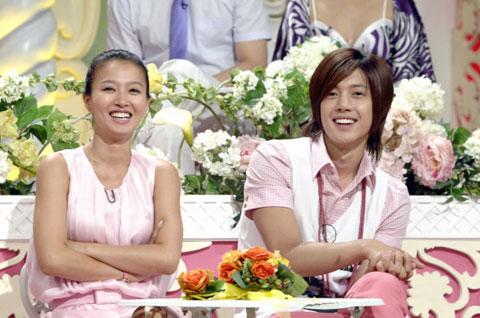 Hwangbo and kim hyun joong