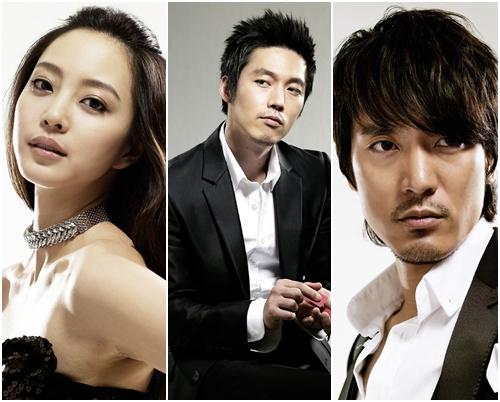 Han Ye Seul, Jang Hyuk, Kim Min Joon