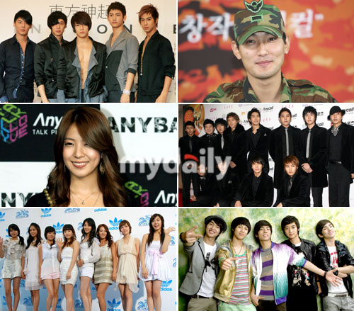 SM Entertainment Artistes