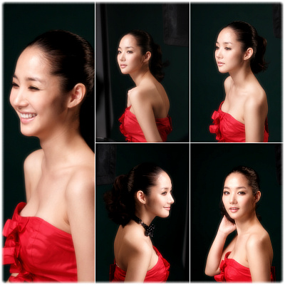 Park Min Young in Red