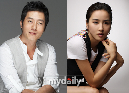 Kim Joo Hyuk and Han Hye Jin