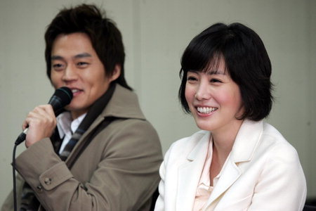 Lee Seo Jin and Kim Jung Eun in happier days