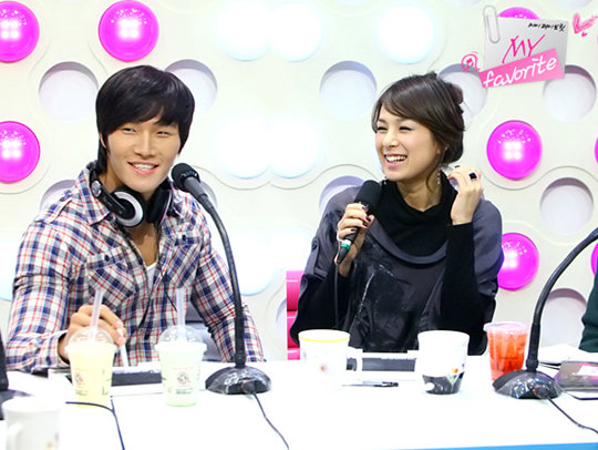 Kim Jong Kook and Chae Yeon