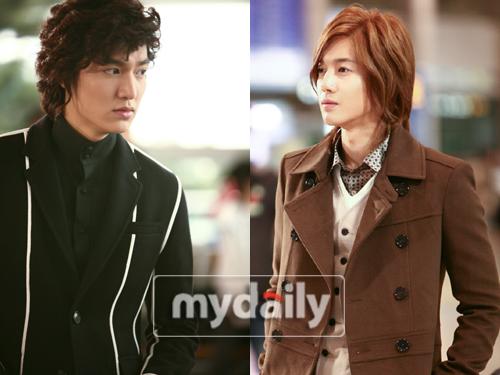 Lee Min Ho as Goo Joon Pyo, Kim Hyun Joong as Yoon Ji Hoo