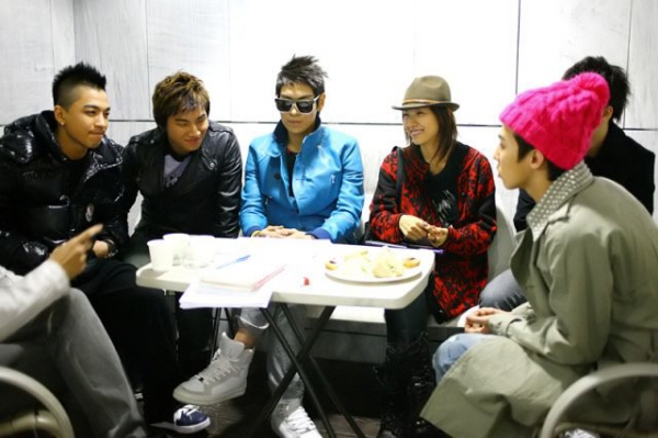 Big Bang and Lee Hyori