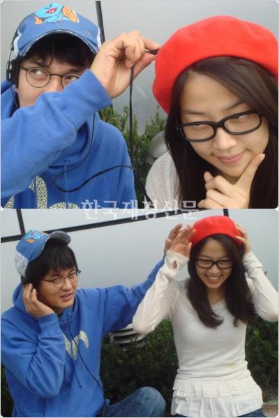 Jo Min Ki and Han Ji Hye