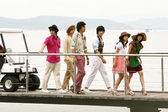 Korean F4 and Friends on New Caledonia