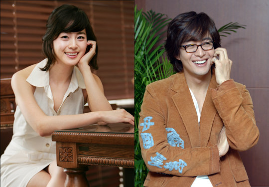 Kim Tae Hee and Bae Yong Joon