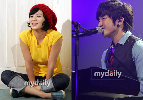 Amy and Lee Minwoo