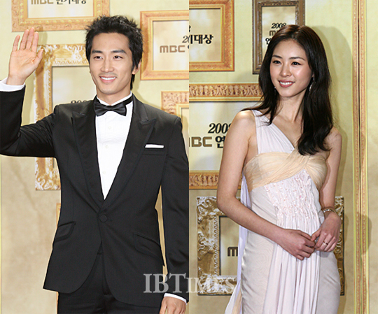 Song Seung Hun and Lee Yeon Hee