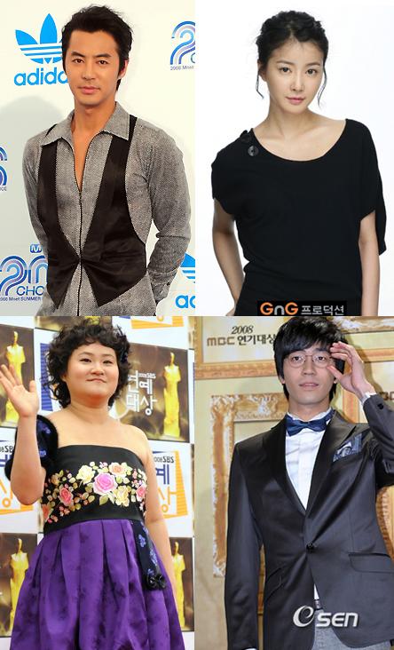 Shin Sung Rok, Kim Shin Young, Lee Si Young, JunJin