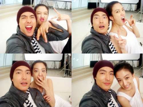 Daniel Henney and Ryeo Won Are BFF