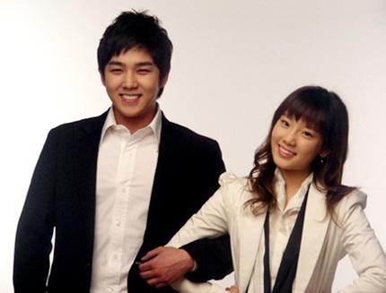 Kangin and Tae Yeon