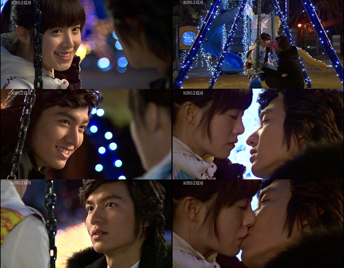 Jandi and Joon Pyo reconciles with a kiss