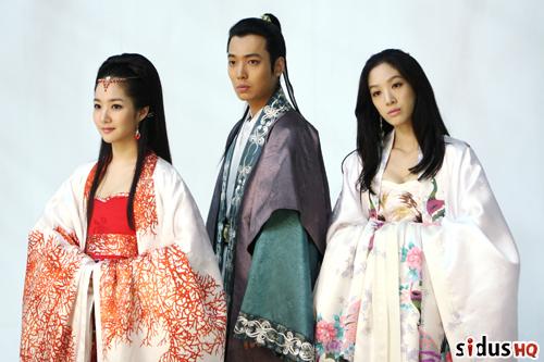 Love Triangle in Princess Ja Myung Go