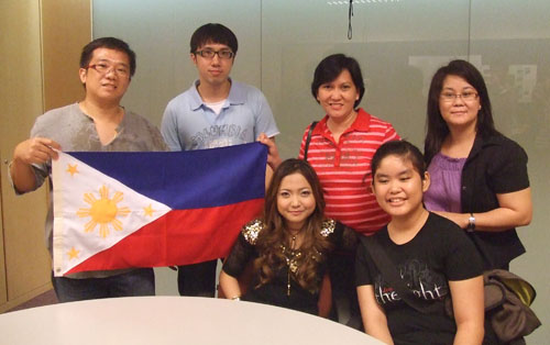 Group photo with Charice