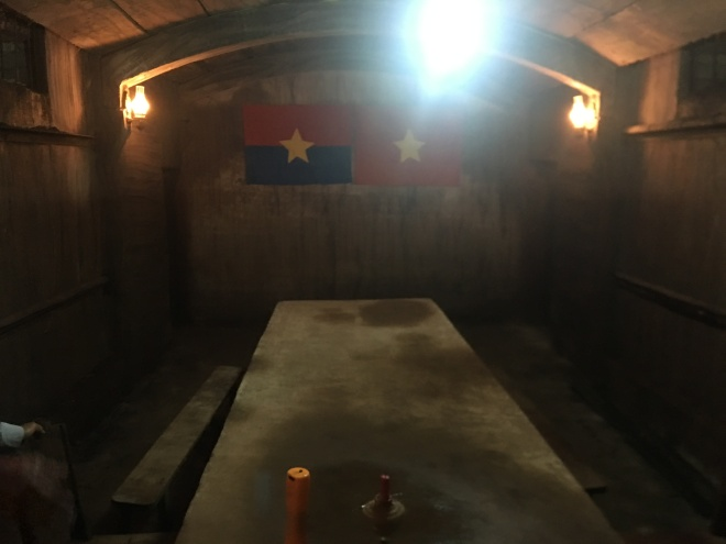 Meeting Room inside Ky Anh Tunnel