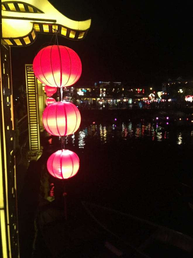 Scenic night view in Hoi An