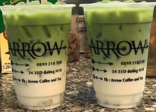 Matcha Frappuccino from Arrow in Tam Ky